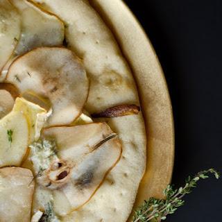Autumn Pear Pizza