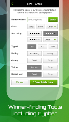 The Racing App - screenshot