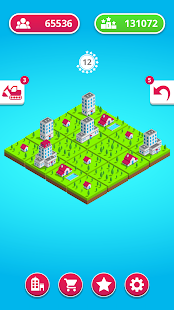 Town Merge: 2048 City Builder - náhled
