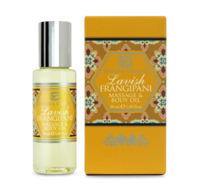 3. Donna Chang Frangipani Massage Body Oil
