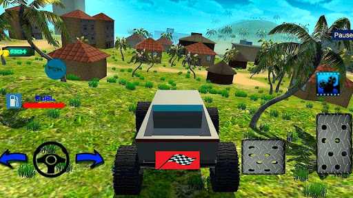 Télécharger 4x4 Off-Road Truck Simulator: Tropical Cargo APK MOD (Astuce) screenshots 1