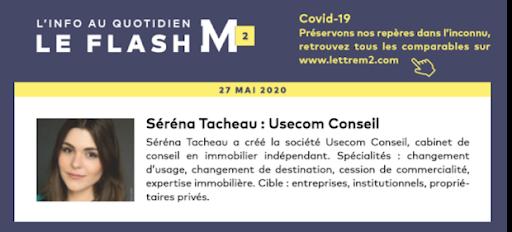 Flash Info - Lettre M² du 27 mai 2020