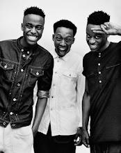 Photo: I See a Different You (trío de fotográfos de Soweto, Sudáfrica) posa para Diesel+Edun: a denim collection born in Africa