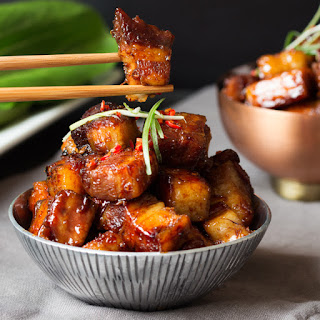 Sticky Chinese Pork Belly.