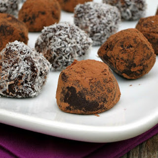 Pinot Noir Dark Chocolate Truffles