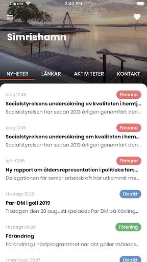 SPF Seniorerna screenshot 2