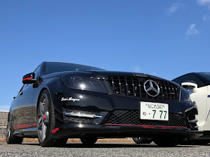 Cクラス W204 AMG SP アバンギャルドのカスタム事例画像 ツッチーさんの2020年02月24日14:22の投稿