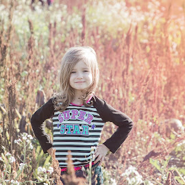 Rozi by Jenny Hammer - Babies & Children Children Candids ( pretty, fall, girl, cute, child )