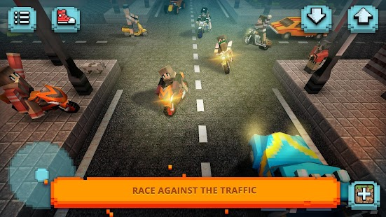 Motorcycle Racing Craft Moto Games Building 3d
