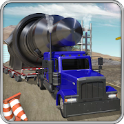Construction Cargo Truck 3dsim