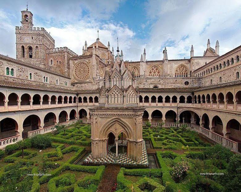 Real Monasterio De Guadalupe Extremadura Espana Trianarts