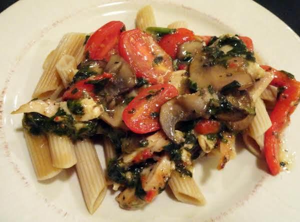 Chicken Margherita W/ Sun-dried Tomato Vinaigrette Recipe