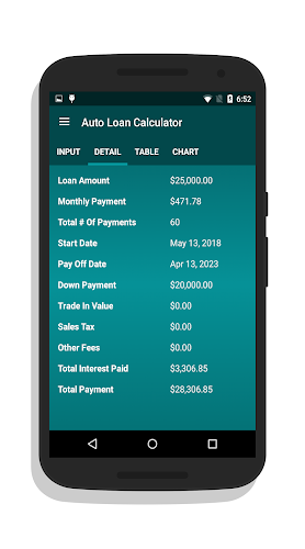 Car Finance Payment Calculator >> Download Auto Loan Calculator Apk Latest Version App By