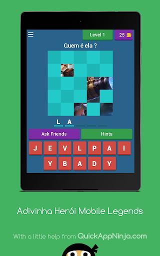 Adivinha Herói Mobile Legends 3.2.7z screenshots 1