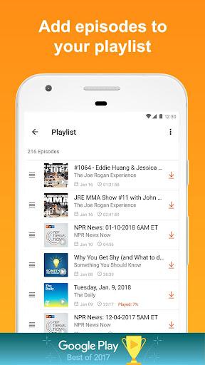 Castbox: Free Podcast Player, Radio & Audio Books screenshot 7