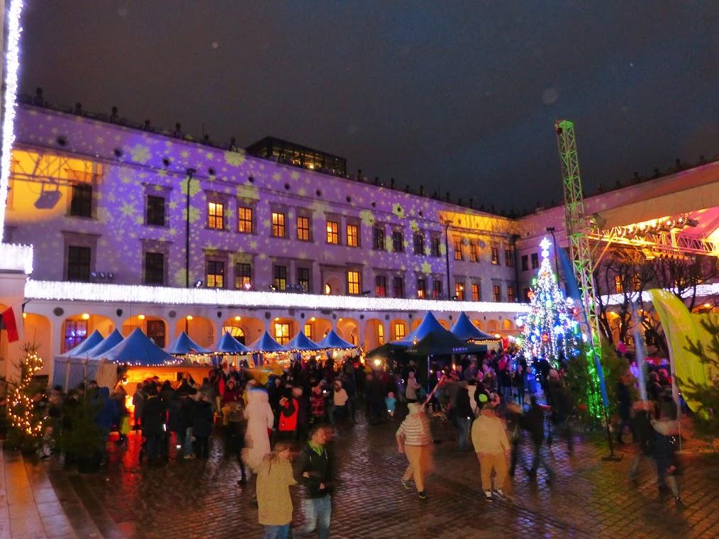 Archivbild vom Szczeciner Schloss-Weihnachtsmarkt. (Foto: Andreas Schwarze)
