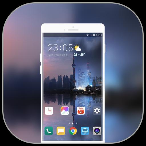 Theme for LG G7 thinQ shangai day night icon