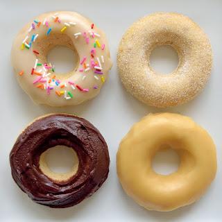 Vegan Doughnut Glazes.