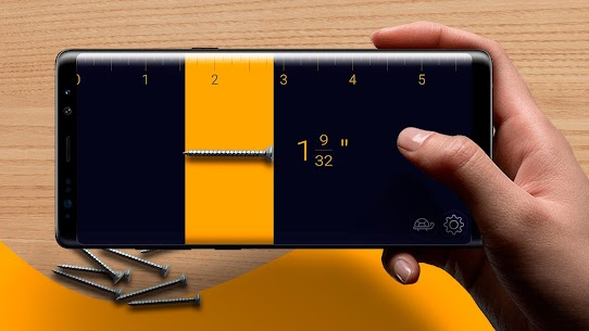 Prime Ruler – length measurement by camera, screen 4