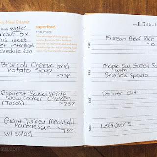 Skinnytaste Dinner Plan (Week 49)