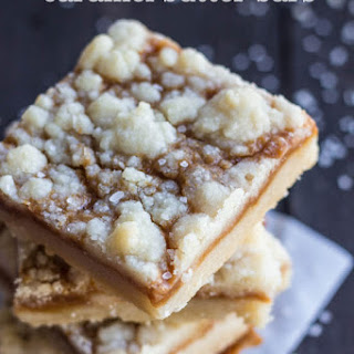 Salted Caramel Butter Bars.