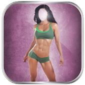 Fitness Girl Suit Photo Editor