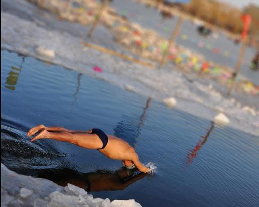 冬の水泳の壁紙|玩個人化App免費|玩APPs