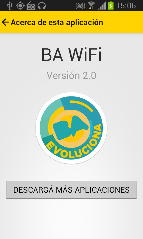 BA WiFi- screenshot