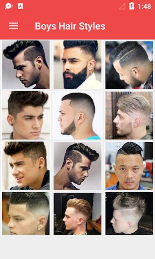 Latest Boys Hairstyle 2018 1.0.3 screenshots 1