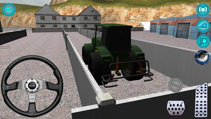 android Traktör: Simülatör 3D 2016 Screenshot 1