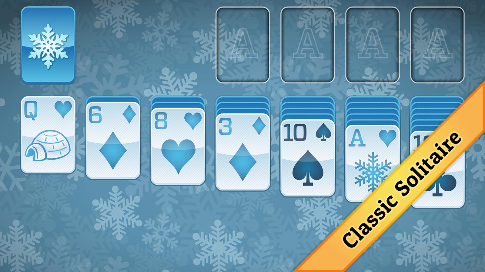 3 card klondike solitaire winter