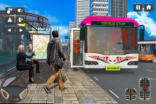 Coach Bus Simulator Game: Bus Driving Games 2020 apktram screenshots 12