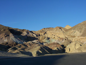 Photo: Artists Drive, Death Valley