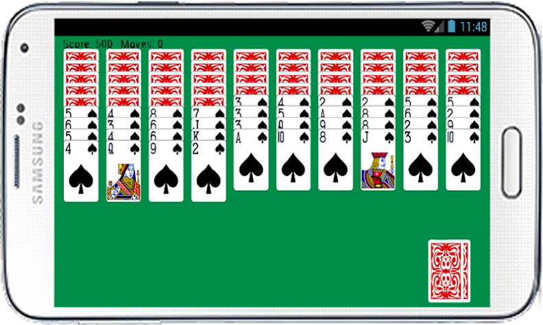 Spider Solitaire Free Game Fun Screenshot