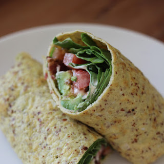 Paleo Breakfast Wraps.