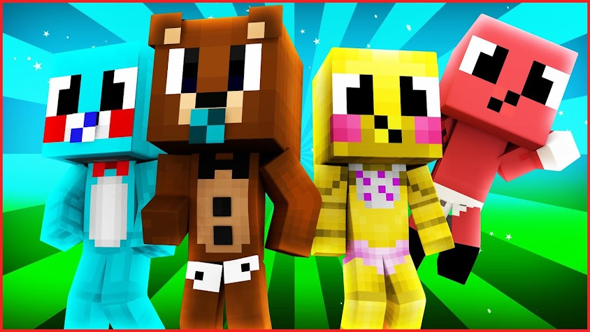 Baby Skins for Minecraft PE Screenshot