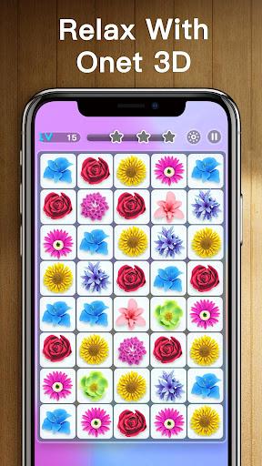 Onet 3D - Classic Link Puzzle screenshots 3