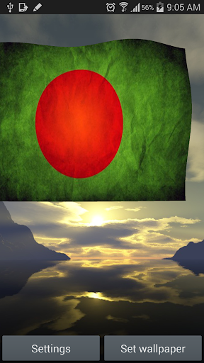 Bangladesh Flag Live Wallpaper