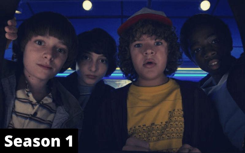 Index of Stranger Things Season 1