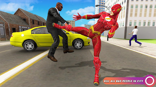 Speed Flash Superhero Fighting City Rescue 1.1.1 screenshots 10