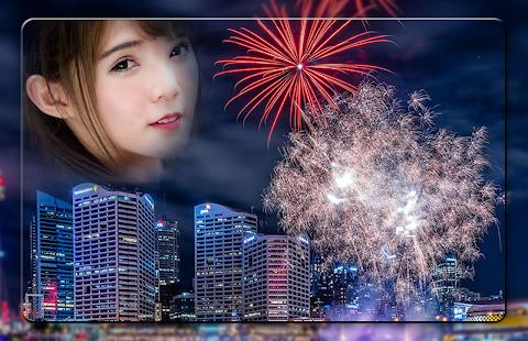 Diwali Fireworks Photo Frames - náhled