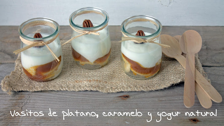 Banana Caramel Yogurt Cups Recipe