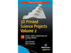 CLEARANCE - 3D Printed Science Projects Volume 2 - Paperback Book
