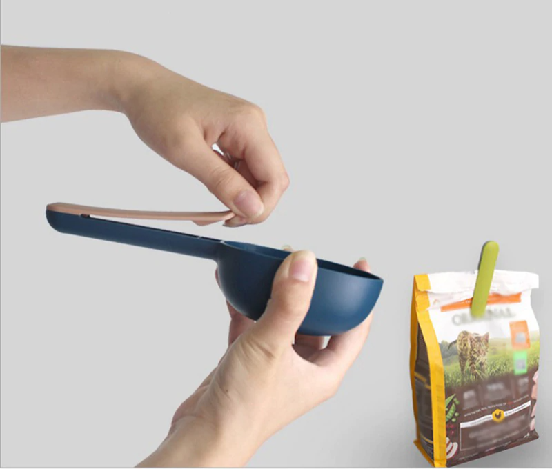 food scoop and sealer