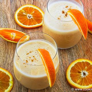 Creamy 2 Minute Orange Banana Smoothie Recipe