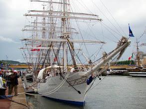 Photo: #019-Journée à l'Armada 2008. Le Christian Radich, un trois-mâts carré (Norvége).