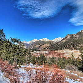 Rocky hills by Bruce Newman - Landscapes Mountains & Hills ( morning light, winter, rocky mountains, landscape, colorful,  )