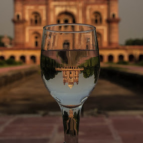 Safdurjung Tomb by Mandeep Singh - Artistic Objects Cups, Plates & Utensils ( canon, history, tomb, glass, delhi )