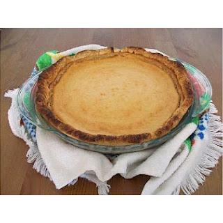 Cherimoya Pie.