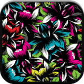 New HD Neon Flower Walllpapers